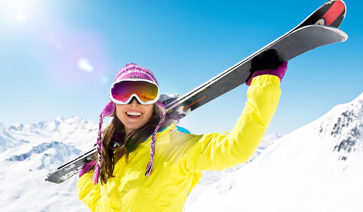 Vorbereitung auf den Skiurlaub