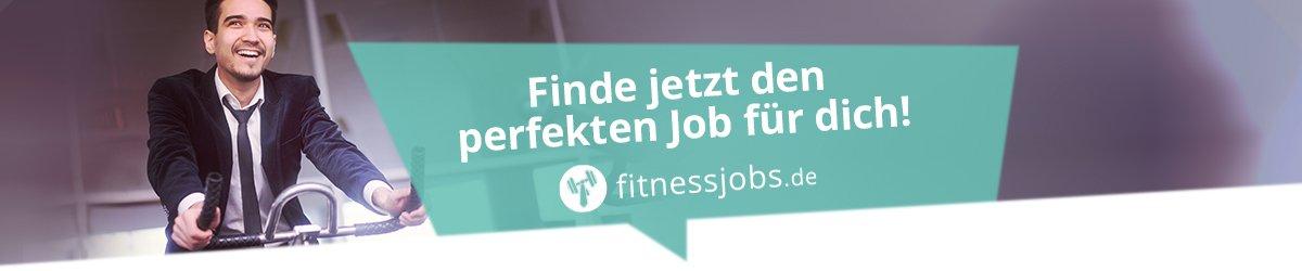 Finde deinen Job auf fitnessjobs.de