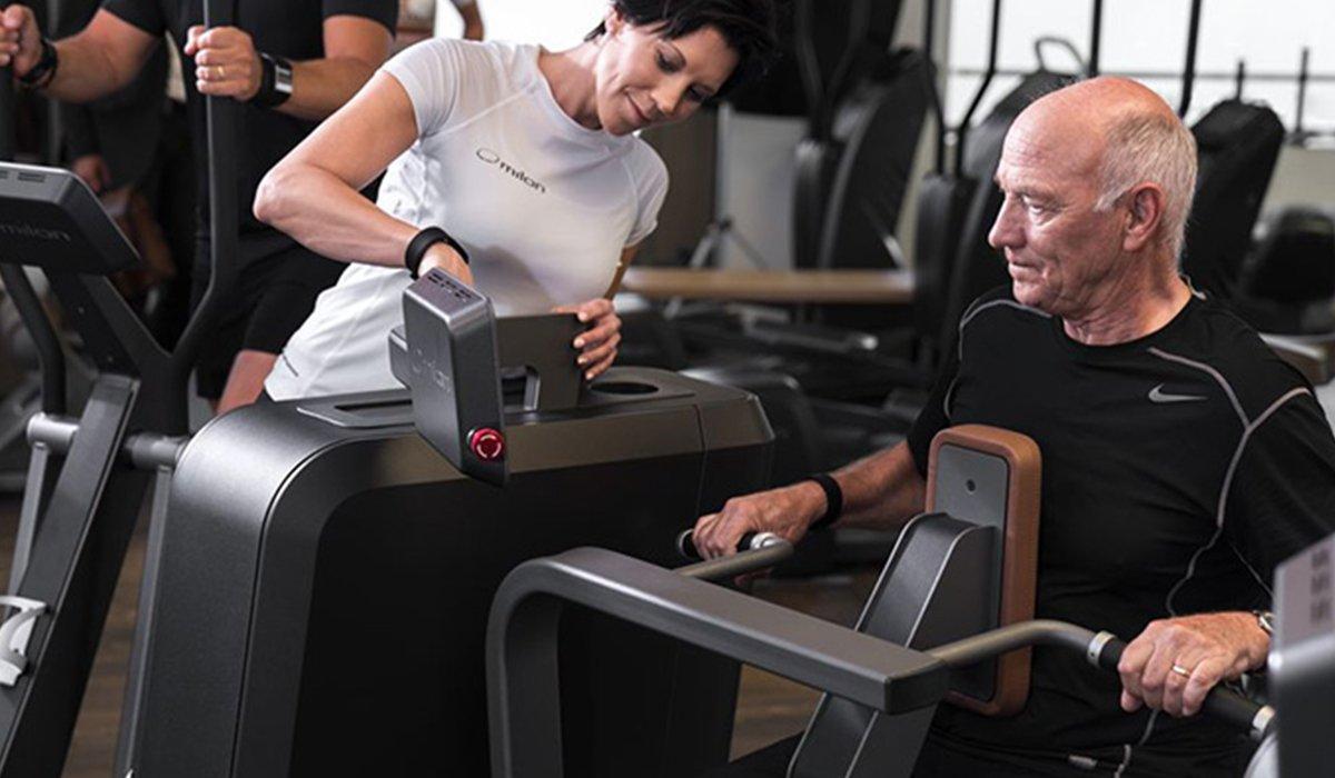 Laufband Training zur Gewichtsreduktion