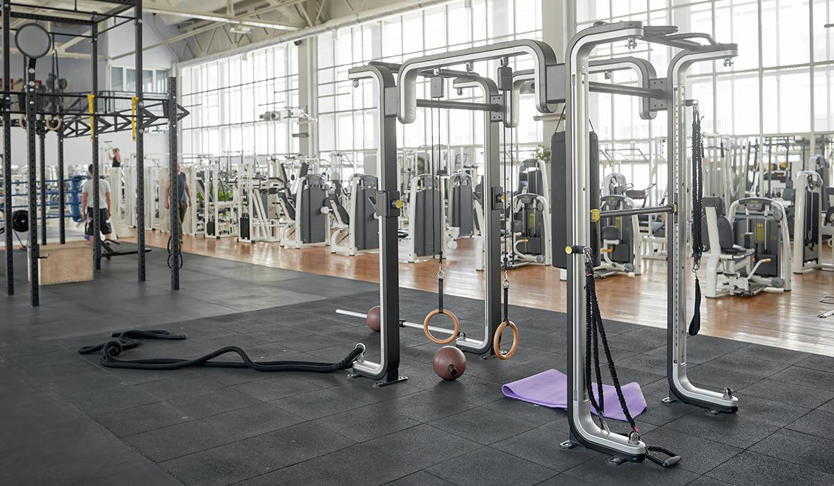 Fitnessstudio ausstatten