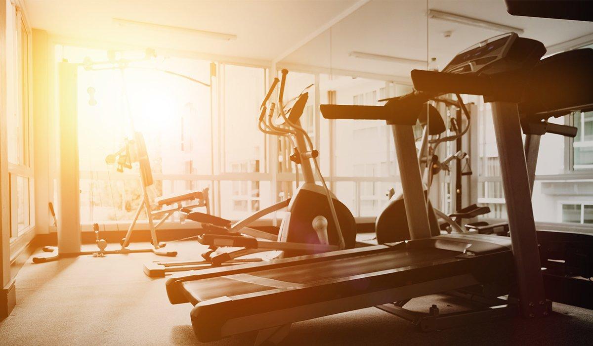 Fitnessstudio-Cardiogeräte