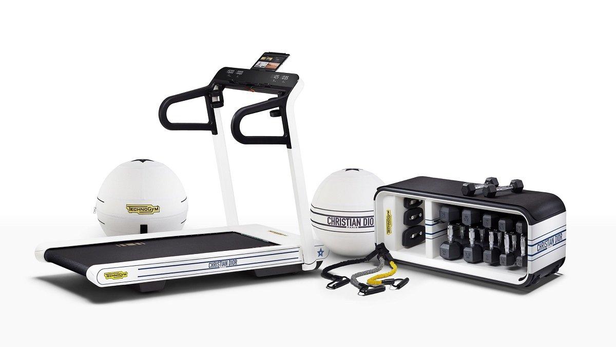 Technogym x Dior Fitnessgeräte
