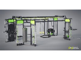 DHZ Fitness FREESTYLE TOWER E360A - Fitness rack directly from the manufacturer