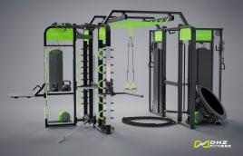 DHZ Fitness FREESTYLE TOWER E360G - Neues Fitness Rig mit Garantie (direkt vom Hersteller)