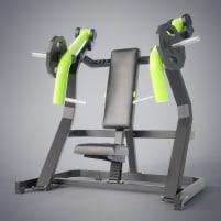 INCLINE CHEST PRESS - DHZ Fitness Bankdrückmaschine NEU