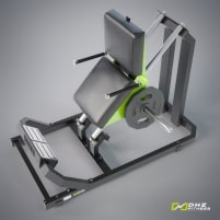 TOP Plate Loaded Wadenmaschine - DHZ Fitness Calf mit Herstellergarantie