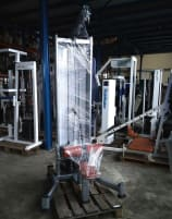 BH Fitness Lat Pull Down, 110kg Weight Stack, Silver, Strength Line, Used