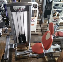 BH Fitness Calf Machine Sitting, Silver, Strength Line, Used