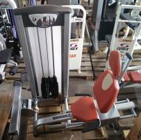 BH Fitness Wadenmaschine sitzend, Silber, Strength Line, gebraucht