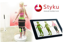 3D Scanner Styku Fitness & Figuranalyse Körperanalyse Körperfettwaage