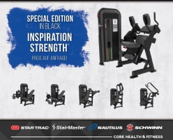 Nautilus Inspiration® Series - SPECIAL EDITION - directly from the manufacturer!