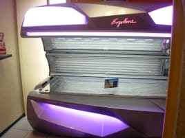 1 Ergoline Affinity 700 Advanced Performance Twin Power Sonnenbank - NEUWERTIG!