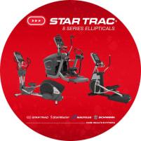 Star Trac 8 Series Ellipticals - DIREKT VOM HERSTELLER!