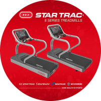 Star Trac 8 Series Treadmills - DIRECTLY FROM THE MANUFACTURER