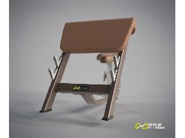 DHZ Fitness Seated Preacher Curl