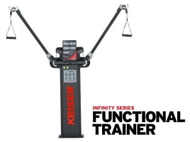 Keiser FUNCTIONAL TRAINER - Cable cross with air pressure resistance - incl. compressor - directly from the manufacturer!