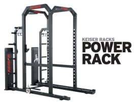 Keiser POWER RACK - combines air pressure technology and free weights training - directly from the manufacturer!