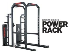 Keiser POWER RACK - kombiniert Drucklufttechnologie mit Freigewichtstraining - direkt vom Hersteller!