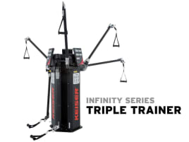 Keiser TRIPLE TRAINER - 3 stations, maximal intensity! - ideal for Functional Training - directly from the manufacturer!