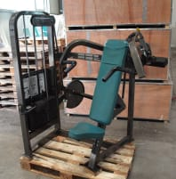 Cybex shoulder press, exclusive paint, used
