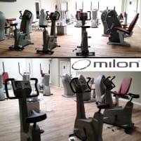 Milon Kraft Ausdauer Zirkel aus Reha Fitnessstudio, 2015 von Milon überholt und gewartet, Baujahr 2010, Zustand gut, gebraucht