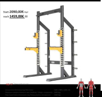 NEW Natural Strength 2.0 Series NS2-17 Power Rack!
