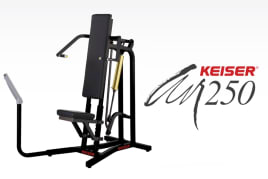 Keiser - AIR250 Military Press - Shoulder Press - directly from the manufacturer!