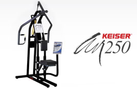 Keiser - AIR250 Upper Back - Seated Row - directly from the manufacturer!