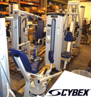 Cybex VR1 set 11 strength machines, modern equipment from showroom, exhibition pieces - very good condition