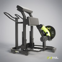 DHZ Fitness LEG CURL Plate Loaded - NEW with warranty
