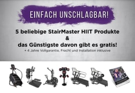StairMaster HIIT OFFER! - Buy 5 new machines - pay only 4!