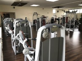 Refurbished, large Technogym and L&K strength training and cardio equipment package (more than 52 machines) from therapy center