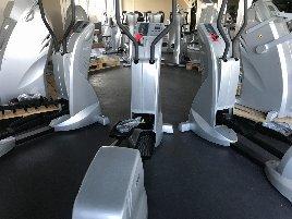 MILON strength endurance training circuit 12 machines BASIC aluminium brushed