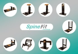 SpineFit flexibility circuit - 9 new machines directly from the manufacturer - powered by fle-xx