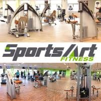 SportsArt gym equipment - strength training equipment, cardio equipment, circuits, weight benches etc. - used, refurbished condition