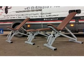 Double-adjustable benches NEW