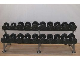 Dumbbell Set New Cast & Rubberized