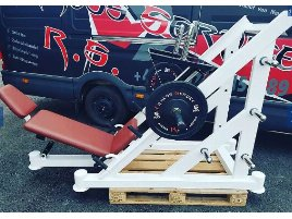 45° Leg Press Plate Loaded New