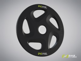 DHZ Fitness weight plate rubber 5 kg - directly from the manufacturer!