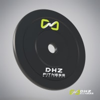 DHZ Fitness Bumper plate rubber 10 kg - directly from the manufacturer!