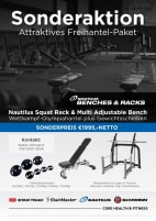 Nautilus Free Weights Package - Only while stocks last!