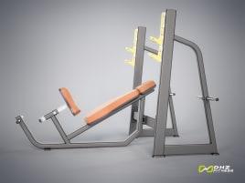 DHZ Fitness Hantelbank OLYMPIC BENCH INCLINE Evost I - direkt vom Hersteller