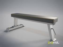 DHZ Fitness - Hochwertige FLAT BENCH Evost II - neu und direkt vom Hersteller (mit Garantie)