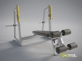 NEU: OLYMPIC DECLINE BENCH Evost II - DHZ Fitness Negative Schrägbank