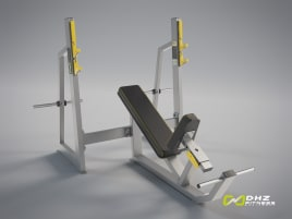 DHZ Fitness - OLYMPIC INCLINE BENCH Evost II Series - new, directly from the manufacturer
