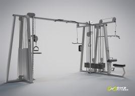 TOP MULTISTATION Kraftstation DHZ Fitness Evost II- neu und direkt vom Hersteller
