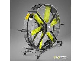 DHZ Fitness - Rollbarer Standventilator