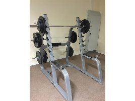 Squat Rack Precor - new and used