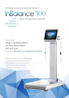 InBalance 300 - Medizinische zertifizierte Körperanalyse Waage - Medical certified Body Composition Analyzer.  *SONDERANGEBOT! - *PROMOTION PRICE!