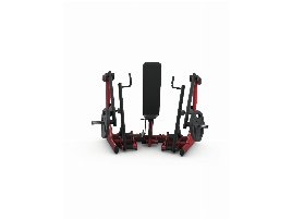 PURE KRAFT bench press device Dual with 50 mm plate holder and boarding aid